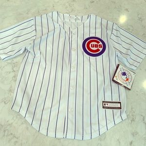 Kids size 7 large cubs jersey
